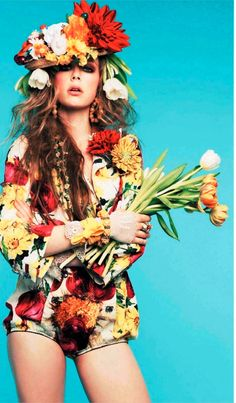 On that print game. #closetrich #floralonesie