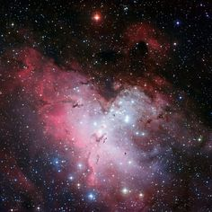 Ten Must-See Images from the European Southern Observatory - Eagle Nebula