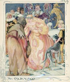 Anne Anderson illustration, ''The Golden Bird'' | eBay