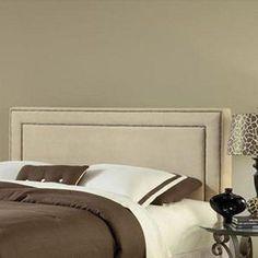 Amber Queen Headboard with Frame in Buckwheat | Nebraska Furniture Mart
