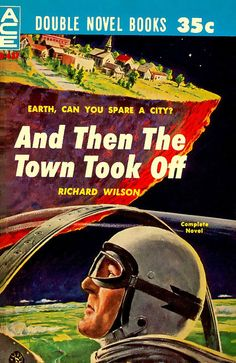 Why is Gary Cooper watching this city fly away?