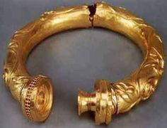 Broighter Torc - ca. 1st Century BCE - Believed to hold protective powers, some Celtic Warriors would go naked into battle bearing only their weapons and their Torc around their neck...