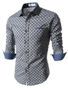 "The ""Kent"" Patterned Dress Shirt – Tattee Boy Clothes"