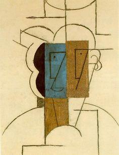 Hombre con sombrero / Pablo Picasso