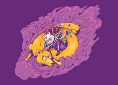 Adventure time shirt from Threadless