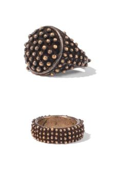 brass rings... the femme version of brass knuckles.