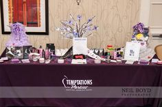 Temptations Parties by Vicki Gabba — at Raleigh Marriott Crabtree Valley.