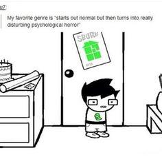 disturbing psychological horror