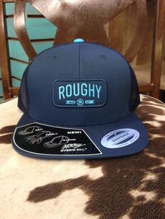 HOOey Brooklyn Roughy Navy Snapback Hat 7600dcba95a9