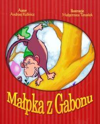 Małpka z Gabonu - ilustrowany audiobook dla dzieci
