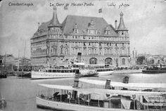 ✿ ❤ Bir zamanlar İSTANBUL,  Haydarpaşa Garı / 1912