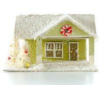 mini houses - can make into Christmas ornaments