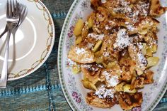 Gormandize: Vegan Kaiserschmarrn (German Torn Pancakes)