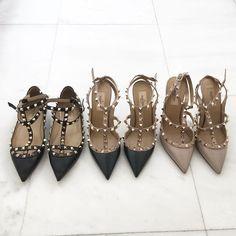 1,2 or 3? #lovevalentino #mycloset #shoes @josieswall