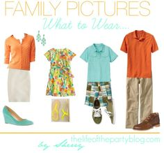 What to Wear for Family Pictures {Spring Looks}