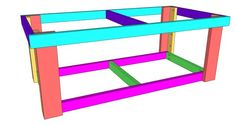 DIY Workbench - Shanty 2 Chic