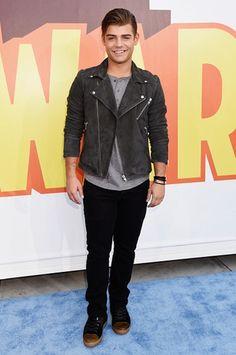 Garrett Clayton at the MTV Movie Awards 2015