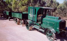 Just a car guy : Renard Daimler Road Train - built for the world road transport market in the early 1900's