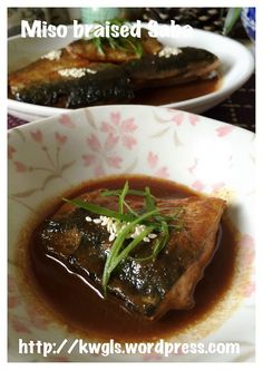 Miso Braised Saba (味增鲭鱼) #guaishushu #kenneth_goh   #miso_saba  #味增鲭鱼