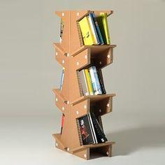 bibliotheque en carton
