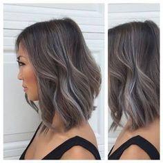 Resultado de imagen para balayage grey