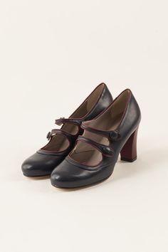 scarpa con doppio cinturino