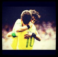 Neymar and Oscar Neymar Jr, Best Player, My Hero, Brazil, Barcelona, Wrestling, I Love, Lucha Libre, Barcelona Spain