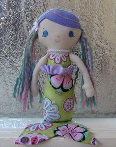 sweet little mermaid doll