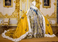Catherine the Great's Royal Dress  Catherine Palace St. Petersburg, Russia, reign 1762-1796