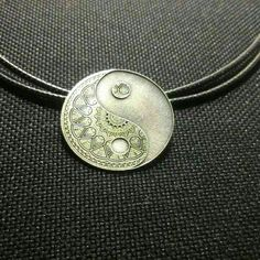 Ying yang pendant silver sterling Jewels, Jewellery, Pendant, Earrings, Silver, Ear Rings, Stud Earrings, Jewerly, Schmuck