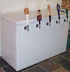 beer taps...