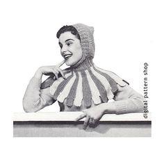 Hey, j'ai trouvé ce super article sur Etsy, chez https://www.etsy.com/fr/listing/206736017/knit-hat-pattern-womens-hood-knitting