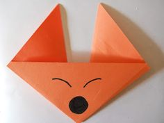 Here are two cute and very easy origami projects to go with the Fox in Socks bo. Here are two cute and very easy origami projects to go with the Fox in Socks book. Click HER Classroom Crafts, Preschool Crafts, Classroom Ideas, Preschool Letters, Preschool Activities, Kids Crafts, Easy Animals, Animals For Kids, Panda Activities