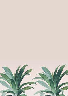 """Aloe"" metal poster by Marta Li #greenery"