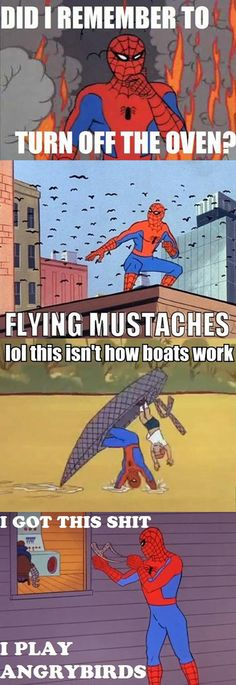 You can't beat 60′s Spiderman…
