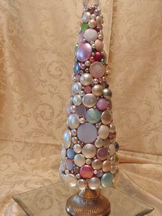 Bejewled Christmas Tree Decor Upcycled Vintage by BeachGypsyKKDhttps://www.etsy.com/listing/211609583/bejewled-christmas-tree-decor-upcycled?ref=shop_home_active_6