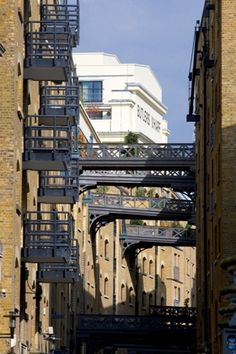 Butlers Wharf, Shad Thames, Southwark, Londom. OotP, but I can't find where it was used!