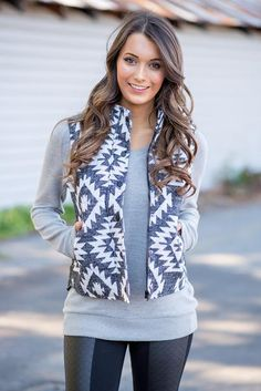 You'll Be Loving Ever Little Detail on This Cute & Cozy Vest A cute vest is the perfect fall layering piece. $45