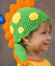 Dragon Hat free crochet pattern by Red Heart yarns  #crochet