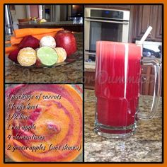 Putting my new juicer to good use!