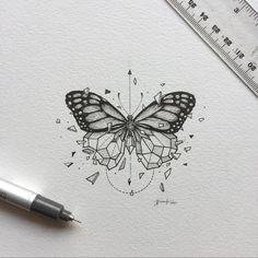 Geometric Beast   Butterfly