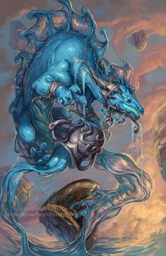 Zodiac dragons of the universe, this unique series features fantasy dragons designed to represent the 12 astrological signs of the zodiac. Description from deviantart.com. I searched for this on bing.com/images