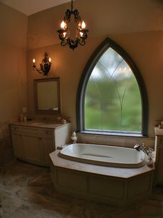 Gothic bathroom gothic bath houses and furniture for Gothic bathroom ideas