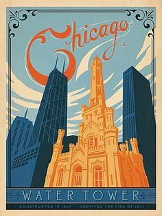 Love for the art nouveau lettering and deco buildings