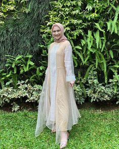 Beautiful Hijab, Dresses With Sleeves, Long Sleeve, Fashion, Moda, Full Sleeves, La Mode, Gowns With Sleeves, Fasion