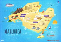 map of cala dor mallorca ins Pinterest Holiday resort