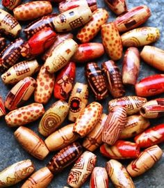 These would make gorgeous prayer beads….