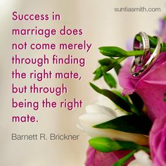 In order to find Mr. Right, you have to be Miss Right.  #love #marriage #relationshipadvice
