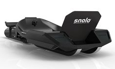 Snolo Sleds Stealth-X.  The Snolo is a high performance carbon fiber sled that glides and corners like a rally racer. Fold it up, strap it to your back and hit the backcountry. $2999