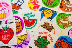 3. You cherished your scratch and sniff sticker collection    Image source: flickr.comI had a special book for my scratch and sniff sticker collection. My friends and I would by sheets of these smelly …
